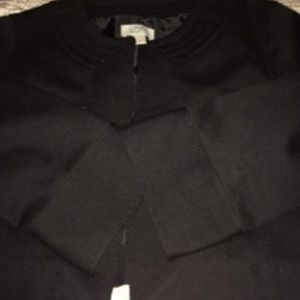 Cropped jacket - very well made - black